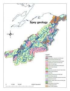 Geology of the River Spey