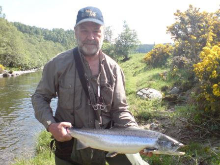 A nice River Avon June 2012 fish for Mr D. Barnes
