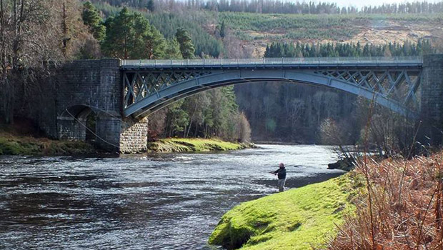 Fishing on the River Spey