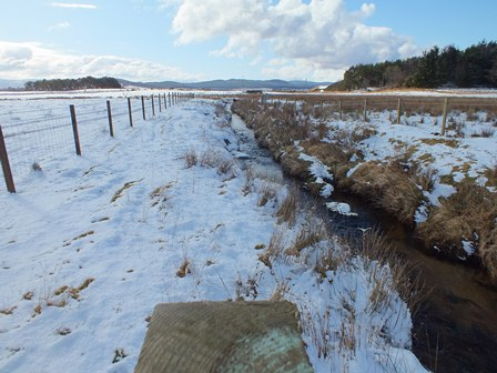 Example of fencing in the Achnahannet Burn