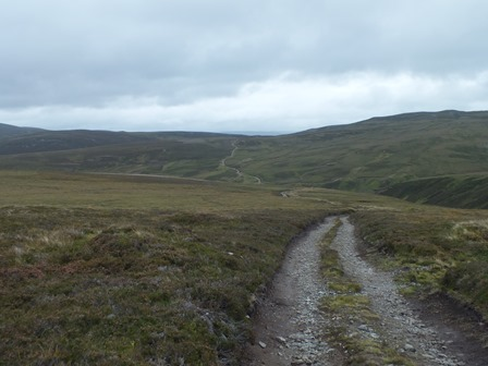 The long and ending road out to the upper Dulnain via Dunachton Estate