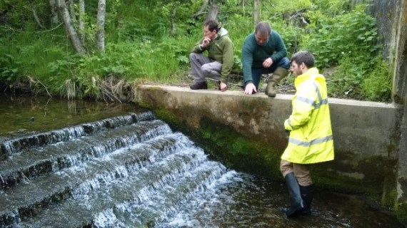 Alasdair Donnelly, Duncan Ferguson and Brian Davidson of RAFTS discuss the Mackalea steps.