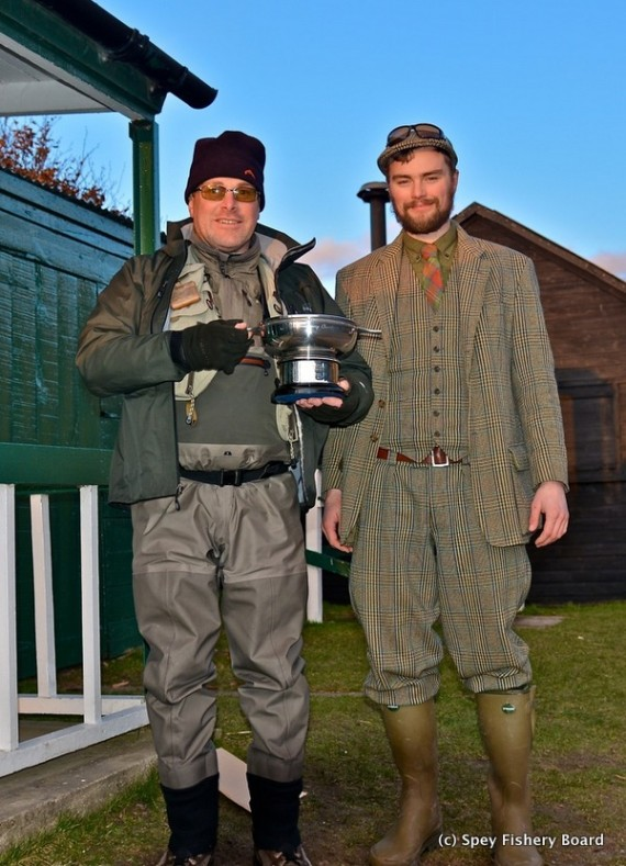 Grahm Ritchie and Rory Paterson Quaich winners 2016